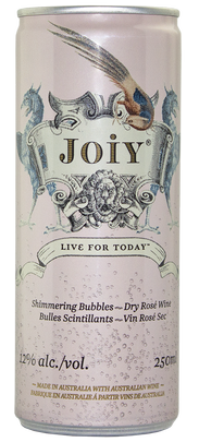 JOIY Prosecco Style Rosé (Case of 24 x 250mL cans) Image